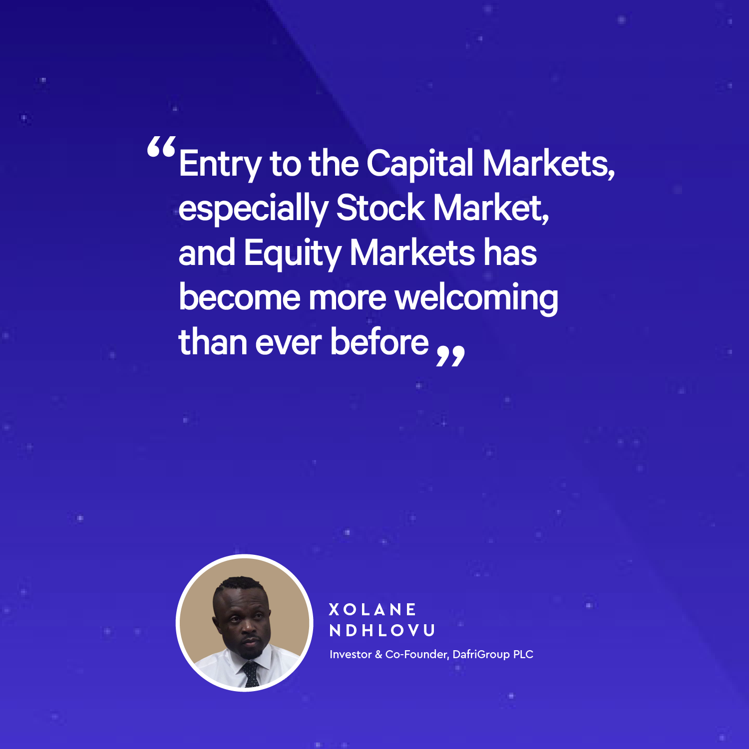 Xolane Ndhlovu - Introduction to the Exciting Avenues of Equity Shares and Cryptocurrencies
